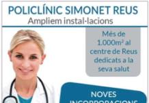 Policlínic Simonet Reus Abril