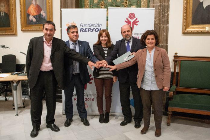 Signatura Fundació Repsol especial Olímpics Reus