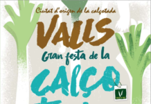 Valls gran festa de la calçotada