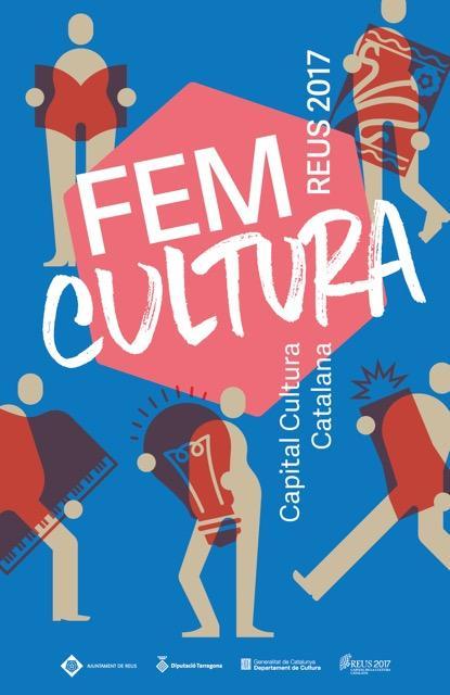 Cartell Reus Capital cultura catalana 2017