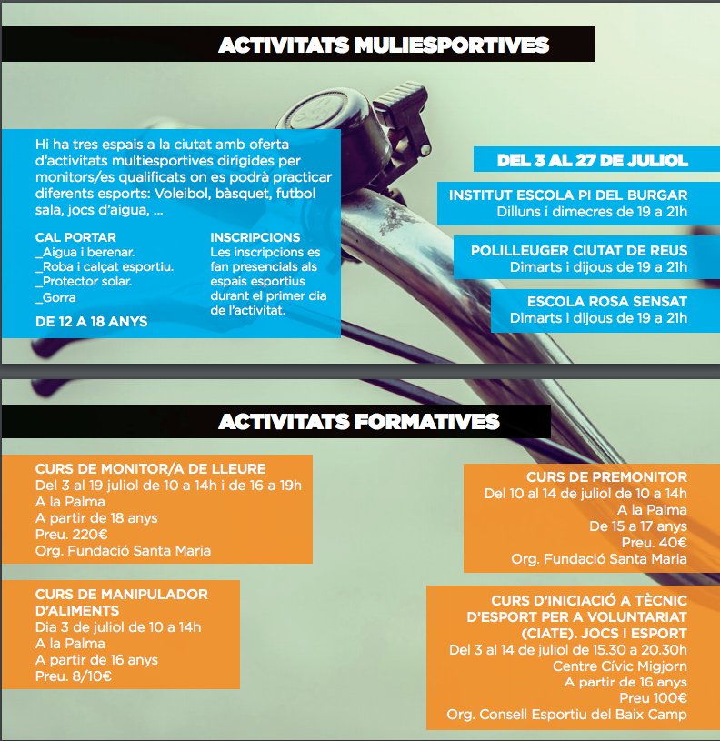 Activitats multiesportives altersuer 2017