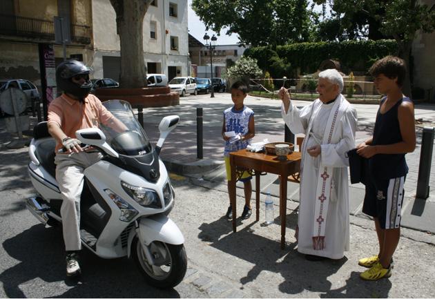 Sant Cristòfol Benedicció de vehicles