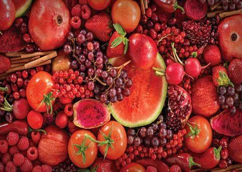 Els colors del menjars
