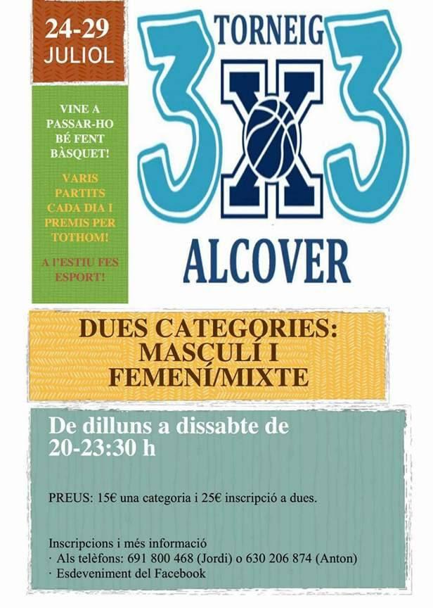 3x3 alcover