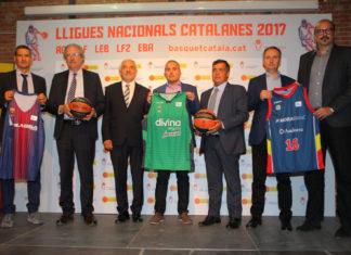 Presentació a Reus les Lligues Nacionals Catalanes 2017