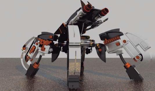 Uns robots molt especials visiten La Fira Centre Comercial