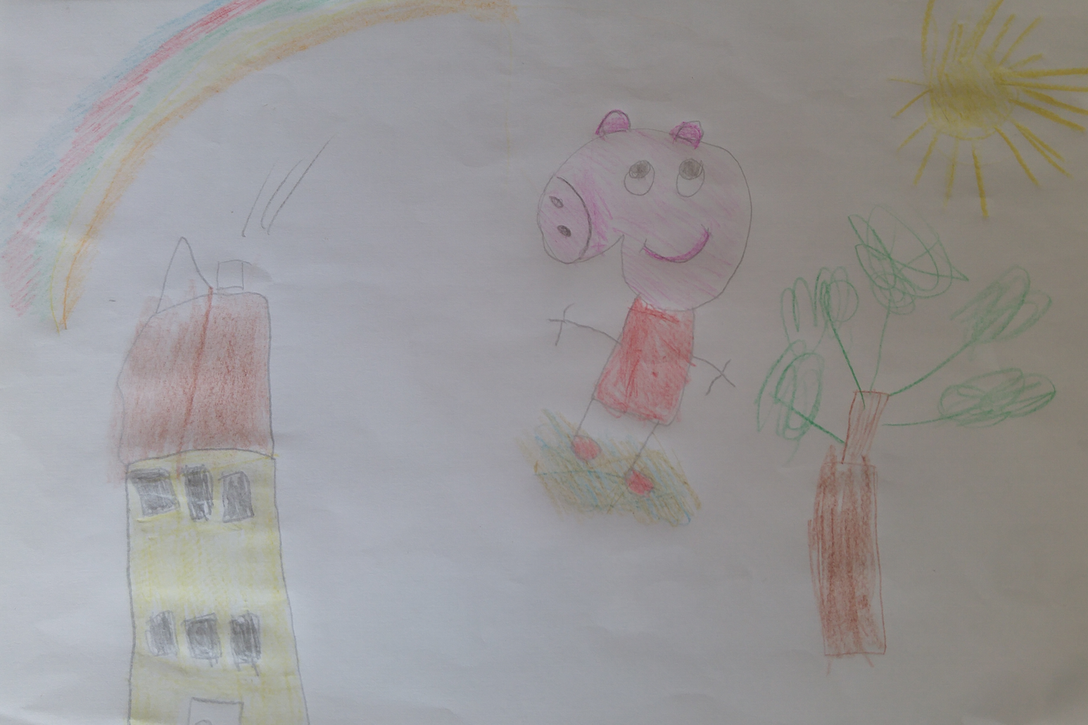 La nena i les seves joguines d'Aina Llauradó Barreda, 7 anys - Reus