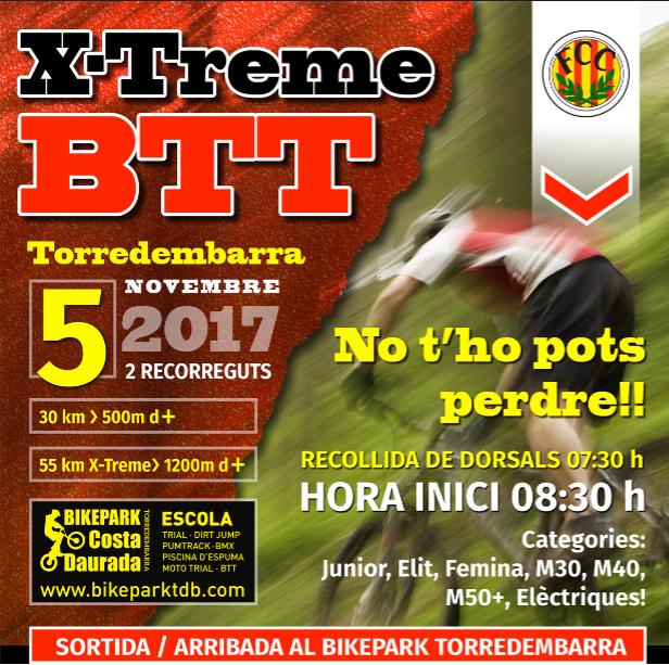 La primera marxa BTT Torredembarra