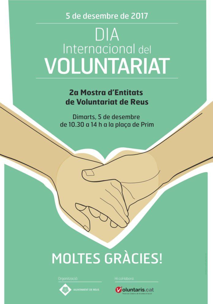 Unes 40 persones s'han fet voluntàries a través del Punt de Voluntariat de Reus aquest 2017