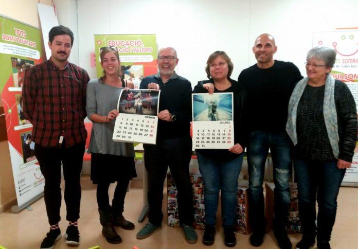 La Fundació Bara presenta un calendari solidari amb els jugadors d'hoquei del Reus Deportiu