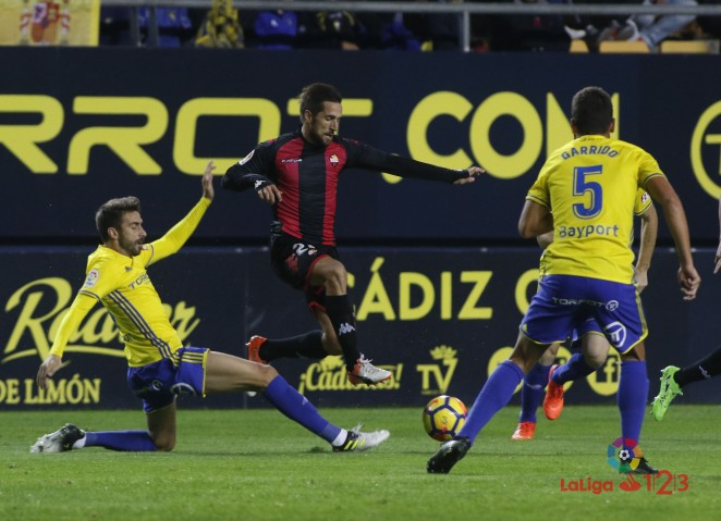 Cádiz CF – CF Reus (1-0): Reacció insuficient