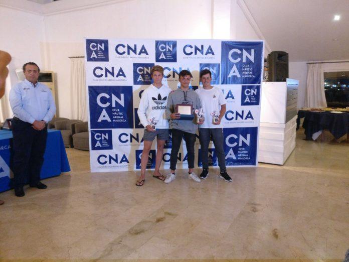 Marcelo Cairo campió d'Espanya de Làser Radial