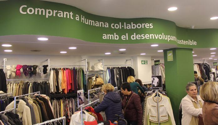 Humana inaugura la seva primera botiga de moda a Reus