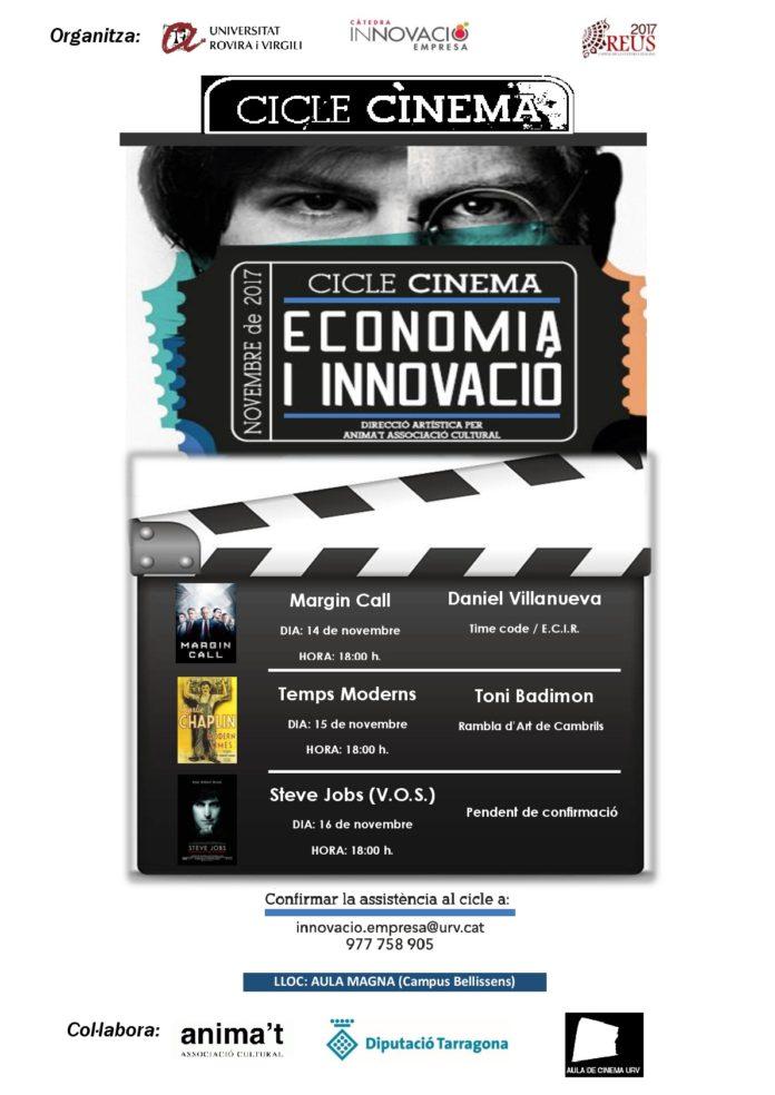 Cicle de cinema sobre economia i innovació