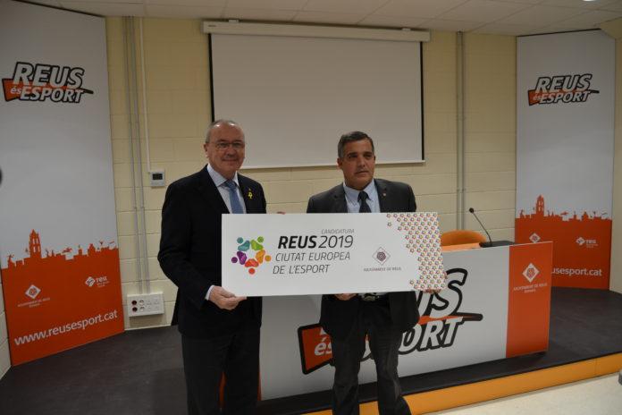 Reus presenta candidatura per ser Ciutat Europea de l'Esport 2019