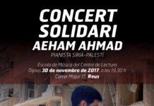 concert solidari del 'pianista de Yarmouk'