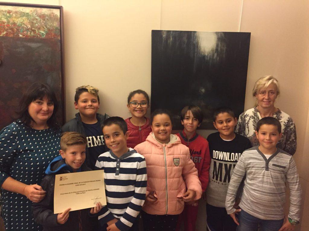 Les escoles Pompeu Fabra i Eduard Toda de Reus s'enduen els Premis Frias