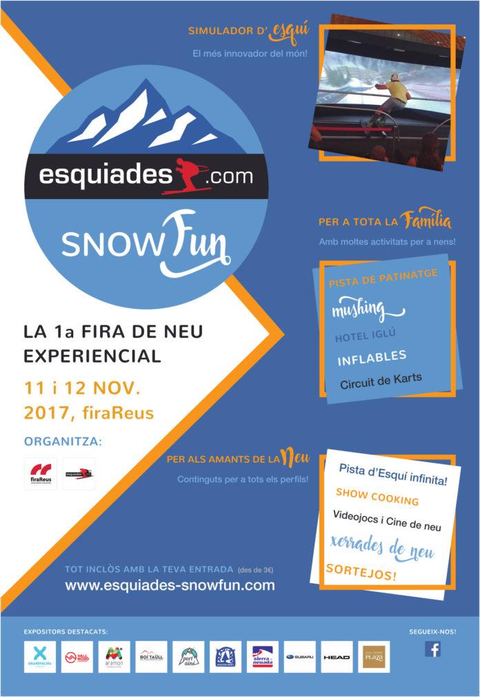 Esquiades SnowFun ja reuneix més de 25 expositors del sector
