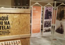 L'exposició 'Aquí hi ha tela!', al Palau Bofarull de la Diputació a Reus