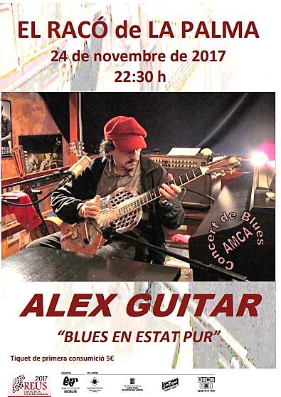 """ALEX GUITAR """"BLUES EN ESTAT PUR"""""""