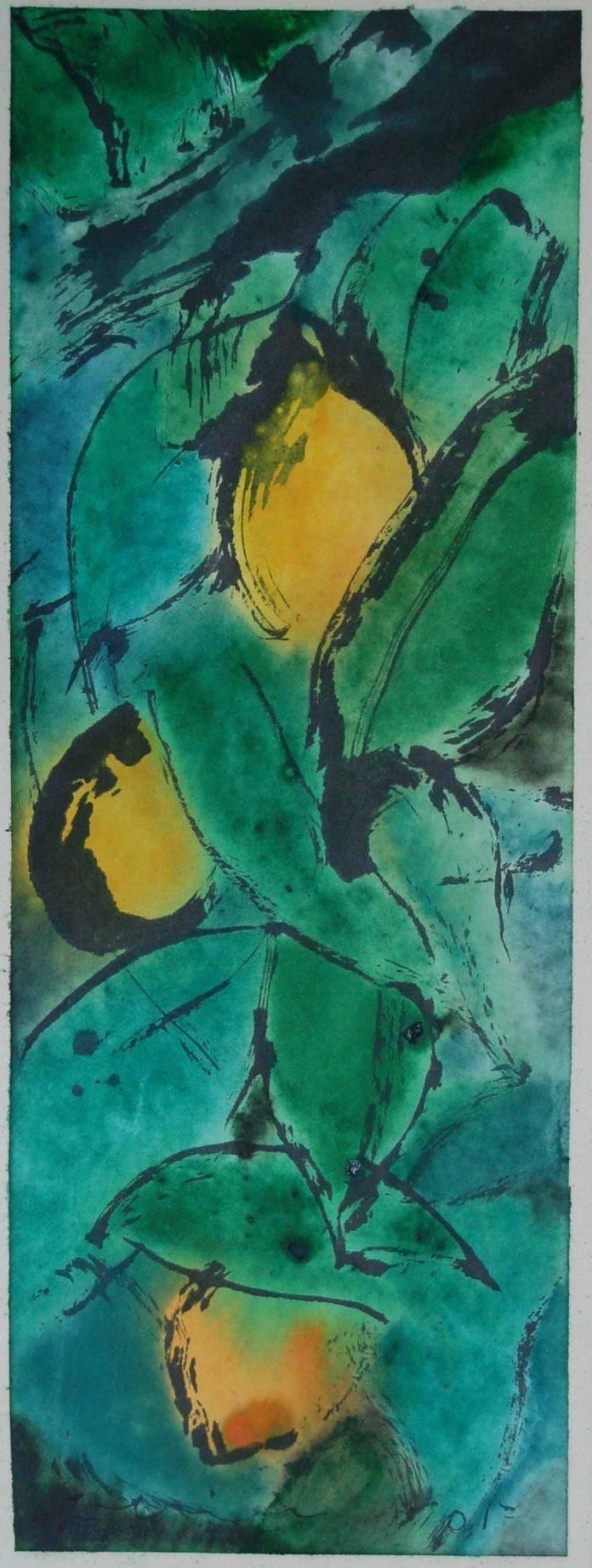 INAUGURACIÓ de l'exposició AROMA de PERICO PASTOR a la GALERIA D'ART ANQUIN'S