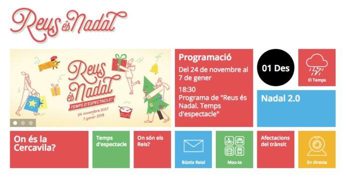 L'app de Nadal d'enguany permet localitzar els espectacles itinerants al llarg de tot el seu recorregut