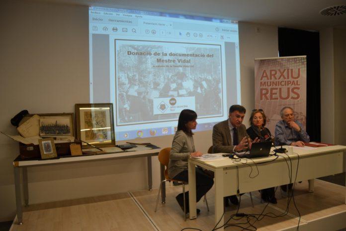 La família Vidal Gil fa donació a l'Arxiu de la documentació de Xavier Vidal, director de la Banda de Música Municipal entre 1919 i 1962