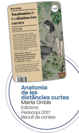 'Anatomia de les distàncies curtes' de Marta Orriols
