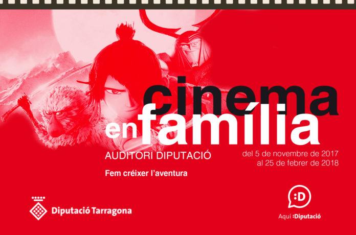 El Cinema en família torna a l'Auditori de la Diputació de Tarragona aquest mes de gener