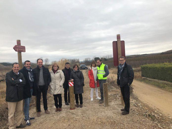 Els alcaldes de Mont-roig del Camp i Vandellòs i l'Hospitalet de l'Infant visiten les vies verdes de Calatayud