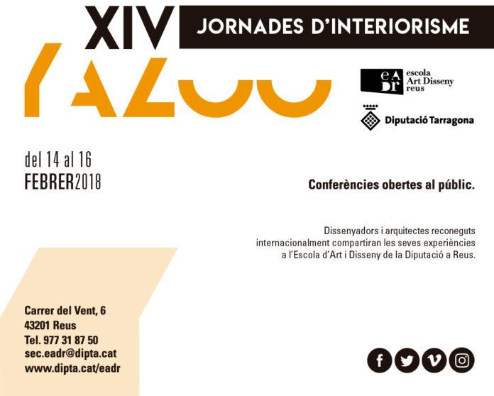 Les XIV Jornades d'Interiorisme Yazoo de l'Escola d'Art i Disseny