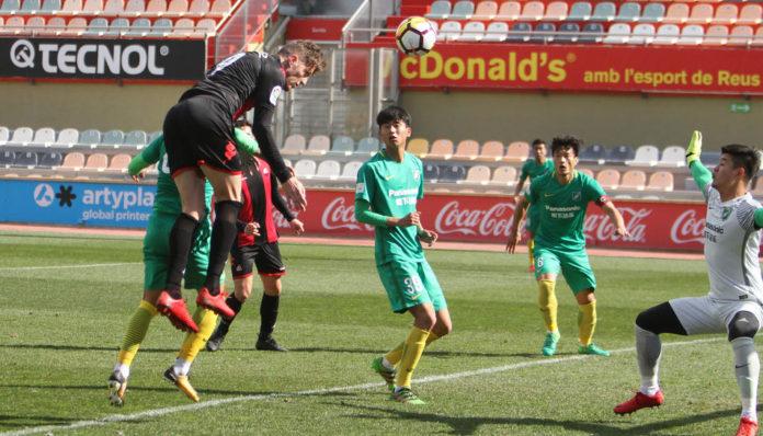 El CF Reus empata l'amistós amb el Hangzhou Greentown xinès