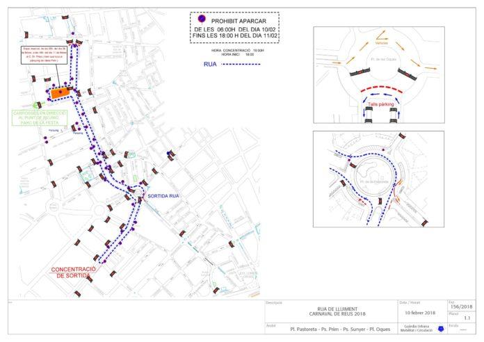 Afectacions al trànsit i al servei de bus per Carnaval