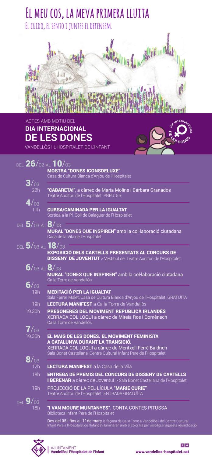 Vandellòs i l'Hospitalet de l'Infant celebrarà el Dia Internacional de les Dones