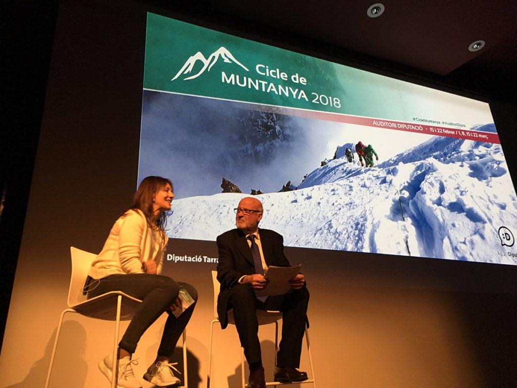 Chus Lago enceta el Cicle de Muntanya 2018