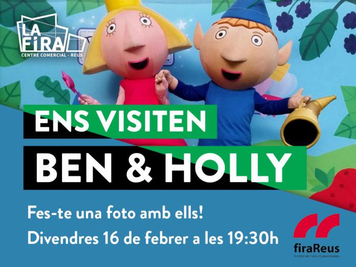 Ben&Holly visiten La Fira Centre Comercial