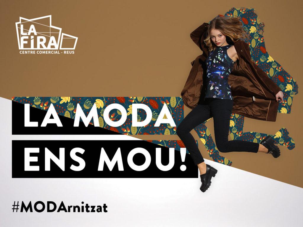 La Fira de Reus presenta les últimes tendències de Moda a les FASHION WINDOWS del Centre in-terpretada pels millors influencers