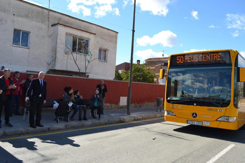 Nova connexió de Reus Transport a la urbanització Sant Joan amb el servei de bus a demanda