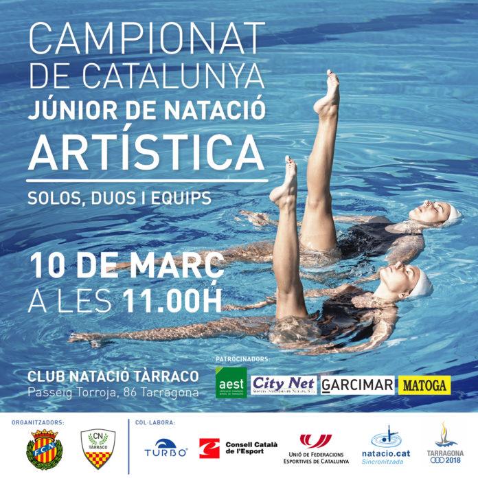 Campionat de Catalunya Júnior de Natació Artística al CN Tàrraco