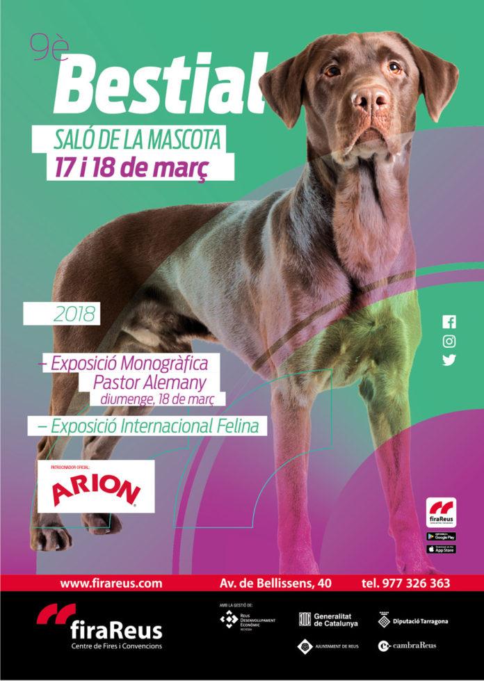 Cartell FiraReus - Saló de la Mascota - 2018