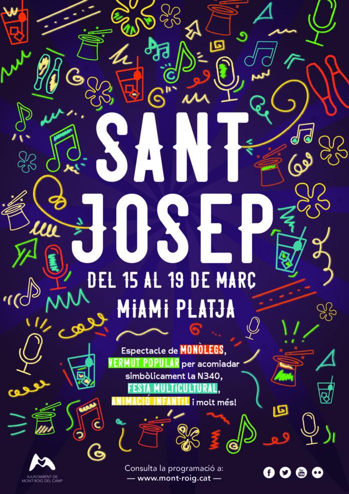 Cartell - Sant Josep - 2018