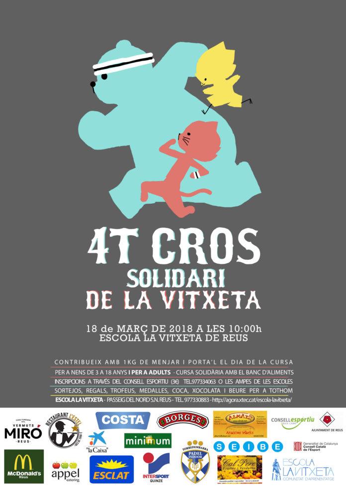 Cartell - Cross Solidari - La Vitxeta