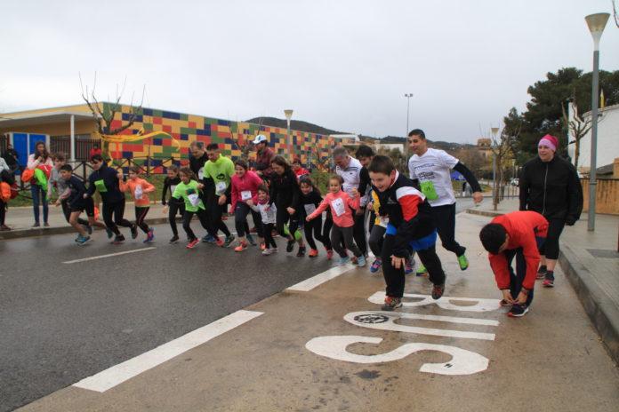 Una cinquantena de participants desafia el mal temps a la Selva i corre la II Cursa de l'Aigua