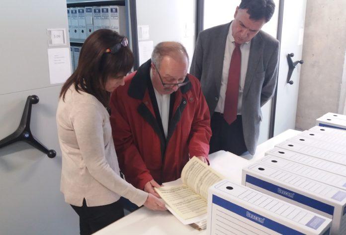Joan Solé Tutusaus cedeix més de 500 documents a l'Arxiu