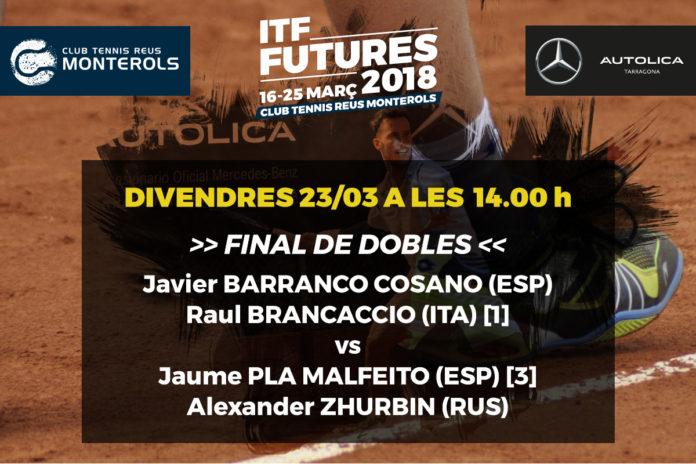 Final de Dobles al Tennis Monterols
