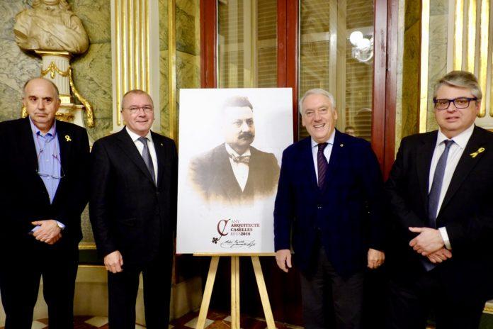 Conferència inaugural de l'Any Arquitecte Caselles a càrrec d'Anton M. Pàmies