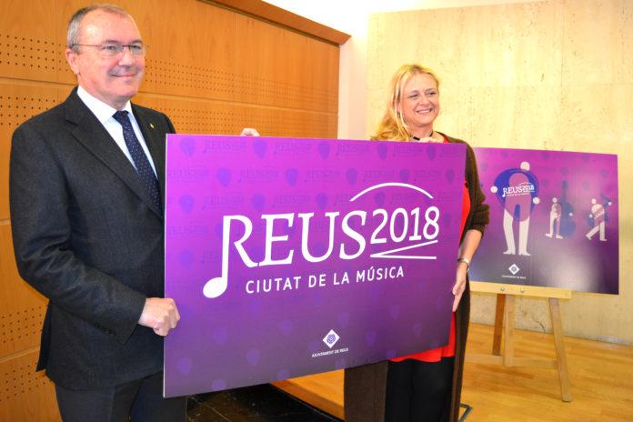 Presentades les línies estratègiques i la imatge de Reus Ciutat de la Música 2018