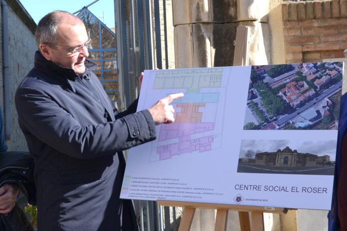 L'Ajuntament engega el projecte del Centre Social el Roser