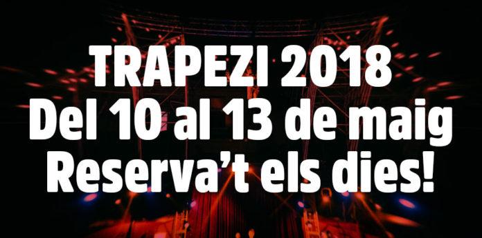 El Trapezi 2018 obre les inscripcions a l'Espai Professional
