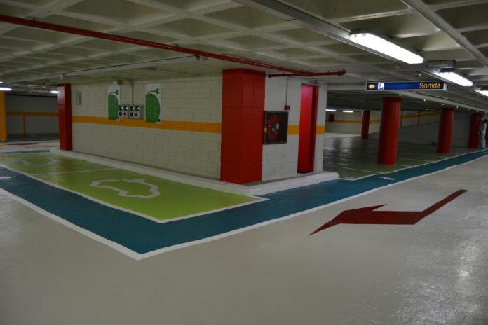 S'obre el pàrquing del Baluard després dels treballs de millora de pintura i senyalització